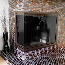 Corner Fireplace Doors