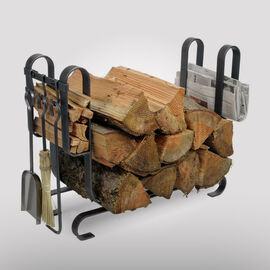 Fireplace Tool Sets with Log Racks