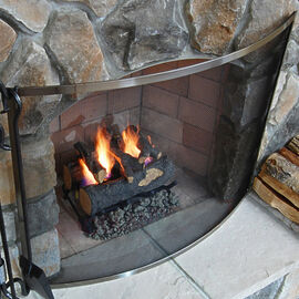 Pewter Fireplace Screens