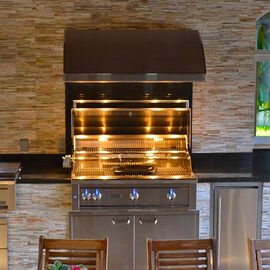 Outdoor Kitchen Vent Hoods