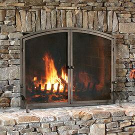 Bronze Fireplace Screens