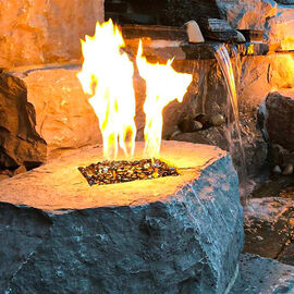 Square Fire Pit Burners