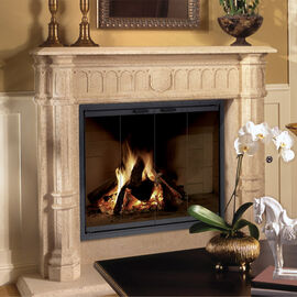 Zero-Clearance Fireplace Doors