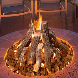 Gas Fire Pit Logs