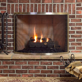Bowed Fireplace Screens