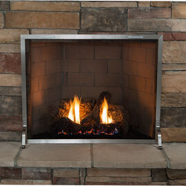 Stainless Steel Fireplace Screens