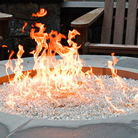 Round Fire Pit Burners