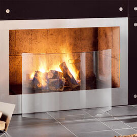 Glass Fireplace Screens