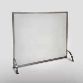 Chrome/Silver Fireplace Screens