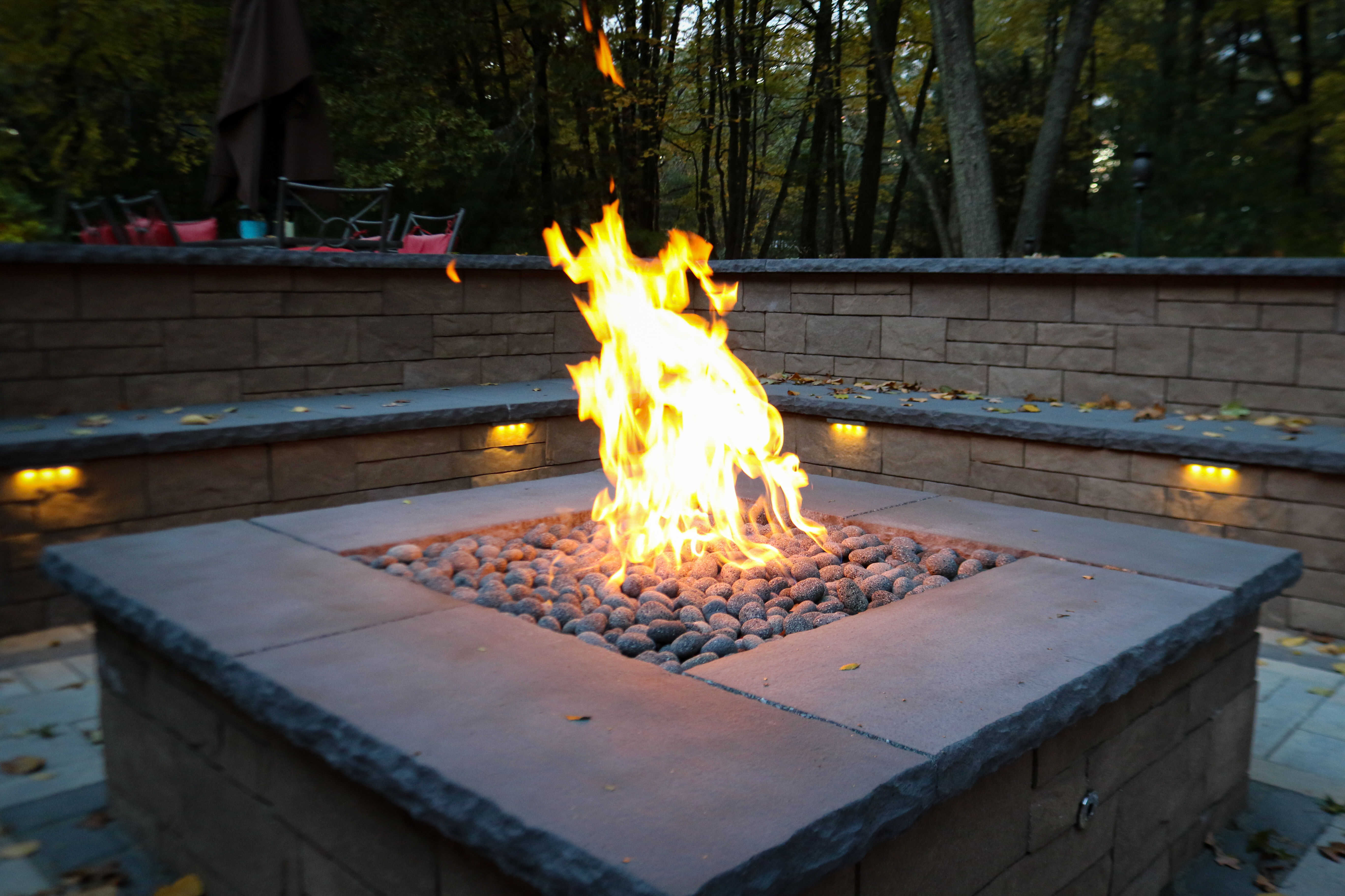 How To Build A Gas Fire Pit Woodlanddirect Com