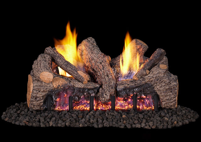 Foothill Oak Gas Logs