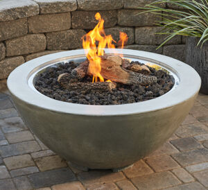 Cove Gas Fire Bowl