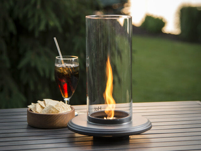 Empire Pub Table with Fire Feature