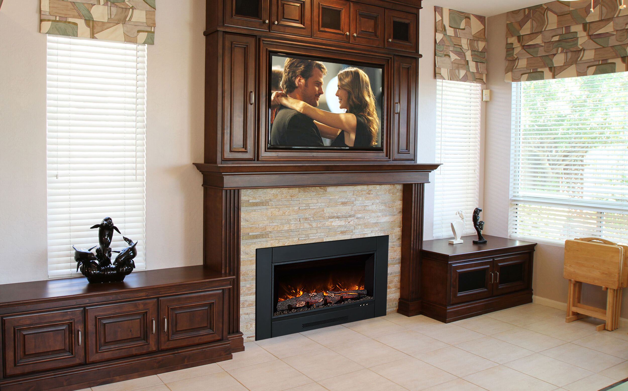 Can I Hang A Tv Over My Fireplace Woodlanddirect Com