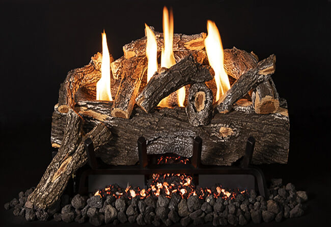 Weathered Oak Gas Logs