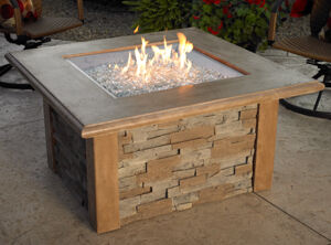 Sierra Square Fire Pit Table