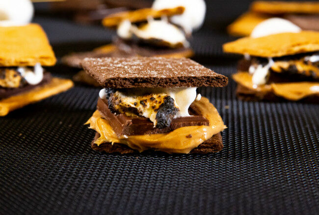 Double Chocolate Peanut Butter Smore