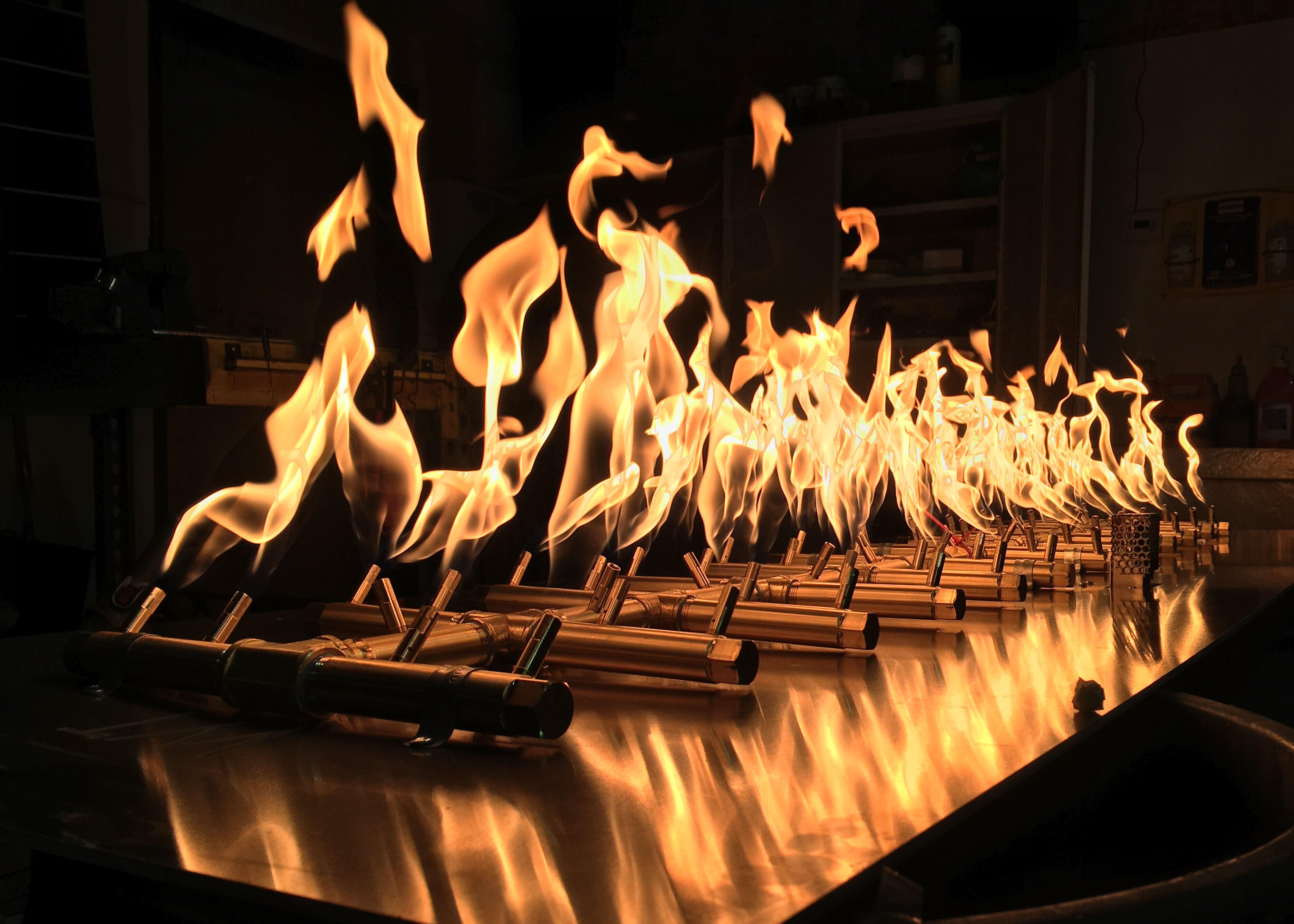 Warming Trends CROSSFIRE Brass Burner
