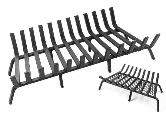 Fireplace Grates Ing Guide, What Is The Best Material For A Fireplace Grate