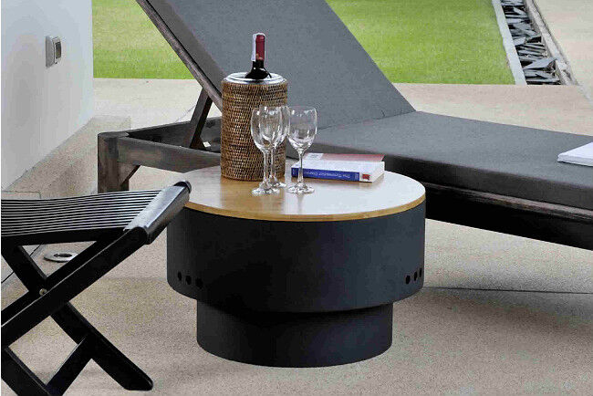 Fire Pit Cocktail Table