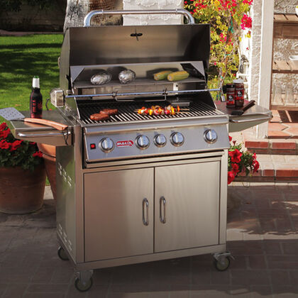 Free Griddle with Cart-Mount Grill