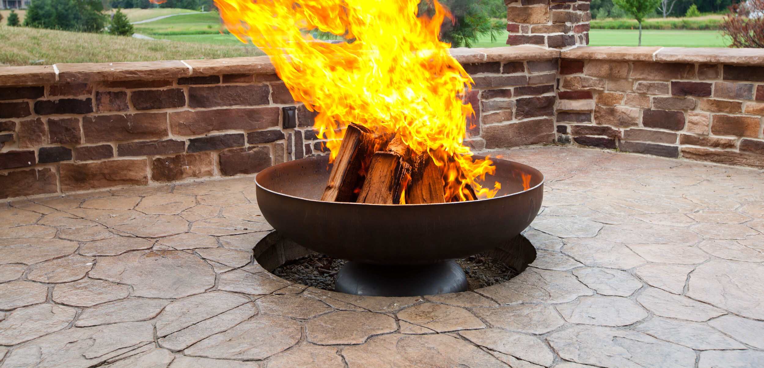 Anatomy Of A Wood Burning Fire Pit Woodlanddirect Com