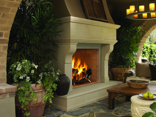 Is It Safe To Use A Fire Pit Under A Covered Patio Woodlanddirect Com