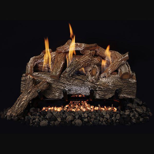 Foothill Oak Gas Logs