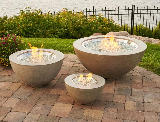Cove Gas Fire Bowl